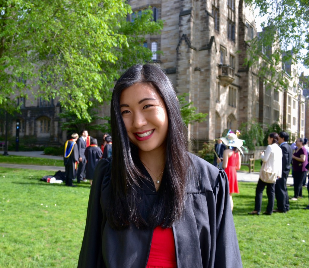 Connie Wang at Yale