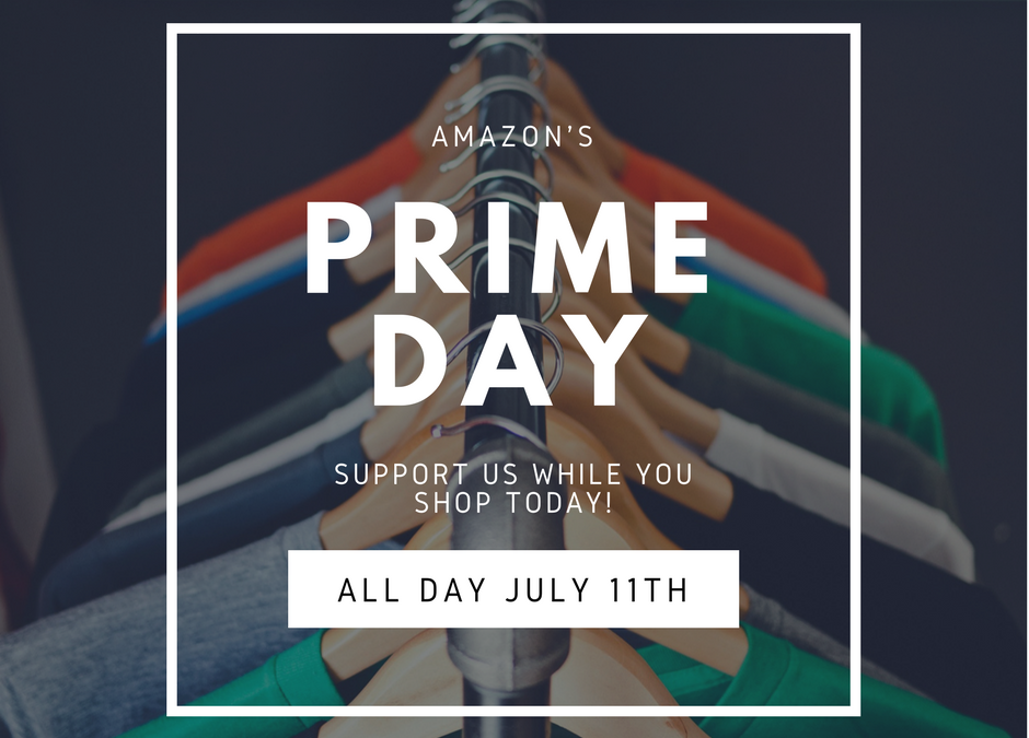 Shop for Scholarships: Amazon Smile and Prime Day is Today