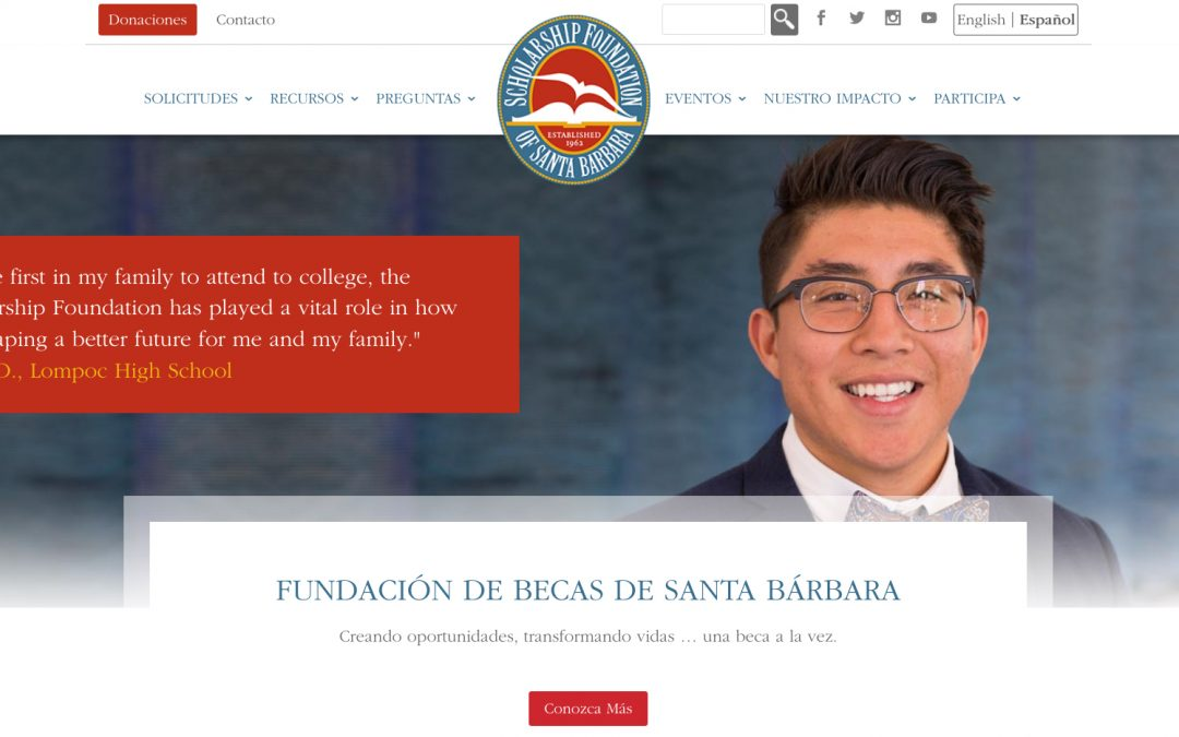 Our Website Now Features Pages and Resources in Spanish