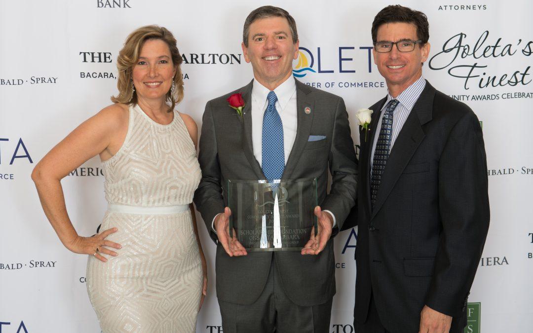 Scholarship Foundation Receives Community Impact Award