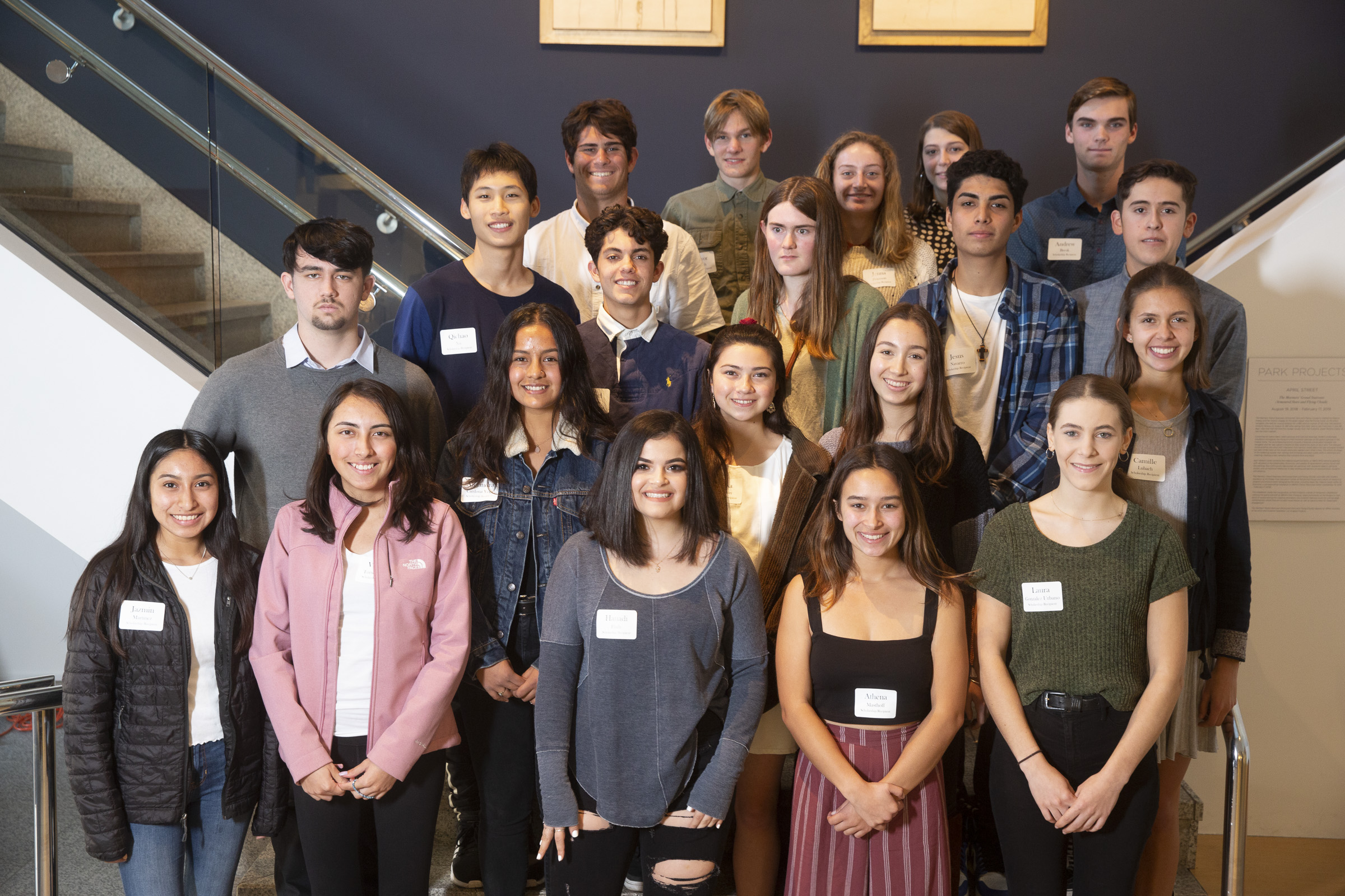 Scholarship Foundation Honors Local Student Artists