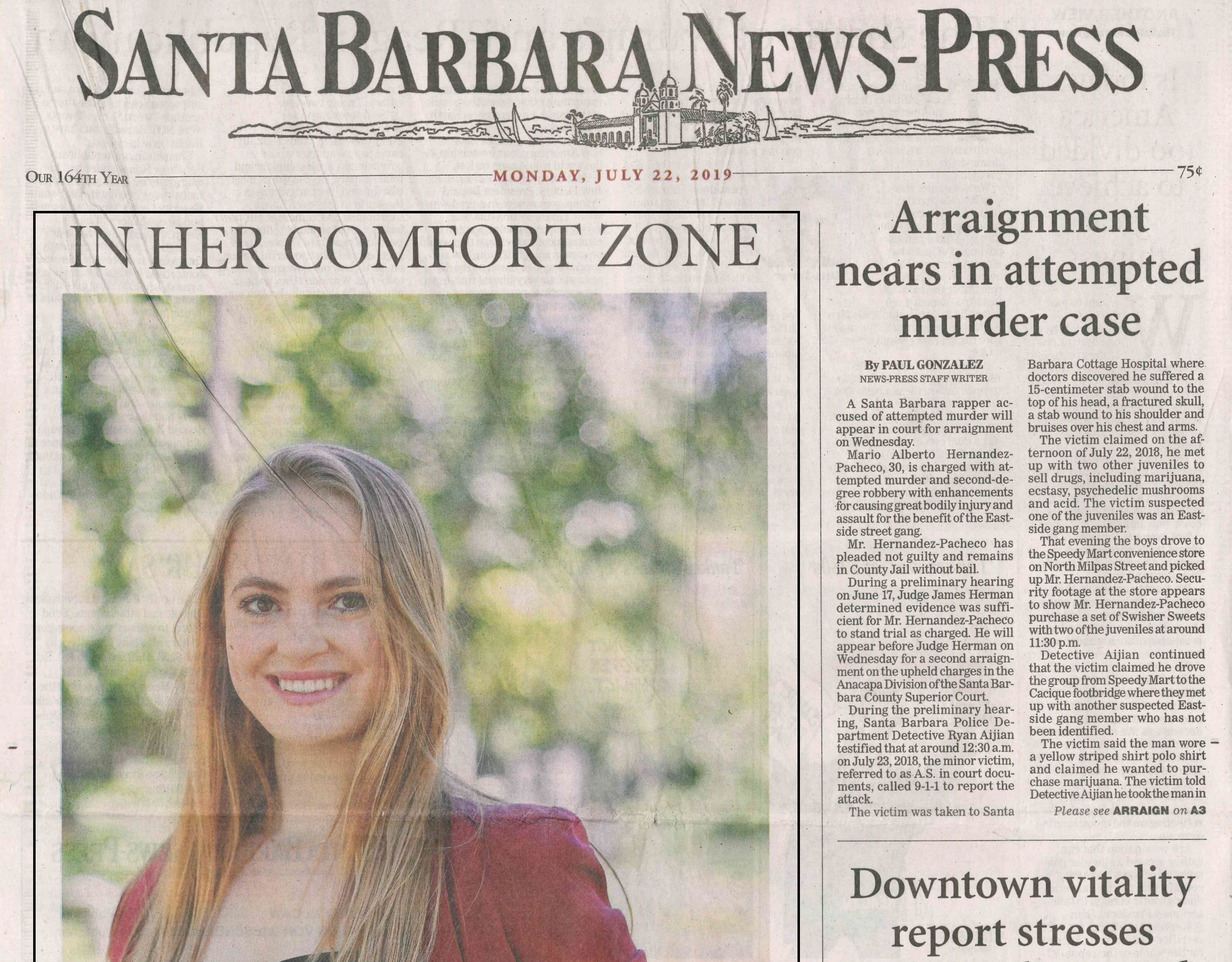 SFSB Awardees Featured in the News-Press
