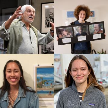 Art Scholarship Winners on KZSB